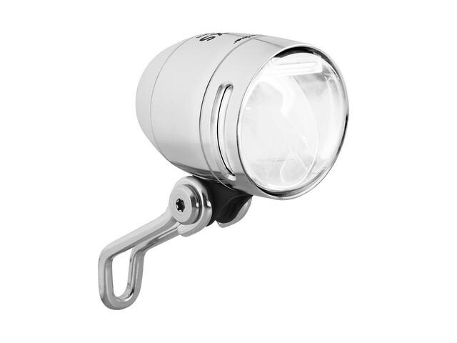 Busch + Müller Lumotec IQ-XS T Senso Plus - Éclairage vélo - transparent/argent